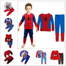 Pyjama Girl Sleepwear Clothing-Set Cars Spiderman Garcon Elsa Toddler Infantil New Kid