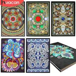 HUACAN Diamond Painting Notebooks Special Shaped New Arrivals Diary Book Diamond Embroidery Sale A5 Mosaic Painting Gift