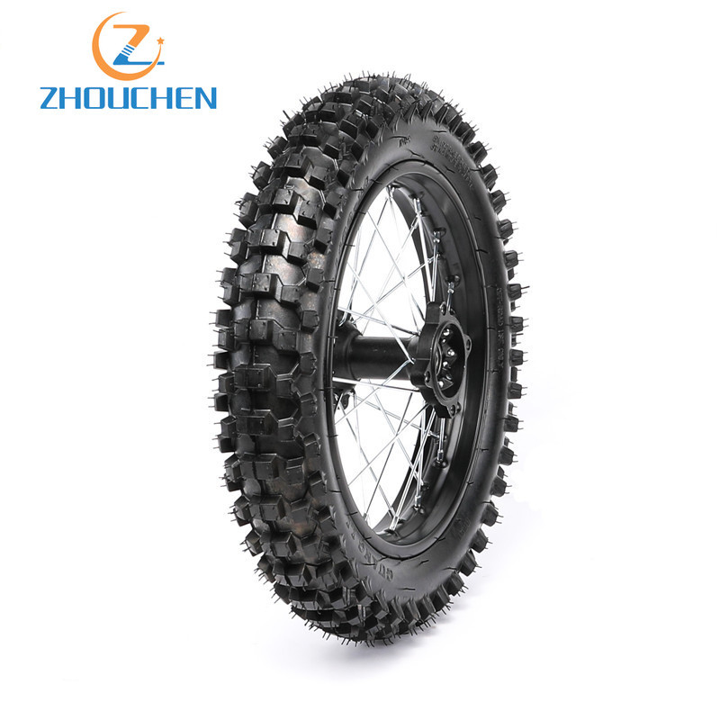 JRL 15mm Front Disc Brake Wheel Rim Hub Fit 110cc 125cc Quad Dirt Bike ATV