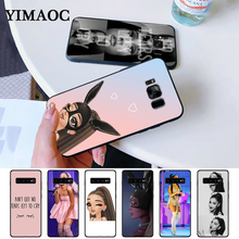 No Tears cry ariana grande Silicone Case for Samsung S6 Edge S7 S8 Plus S9 S10 Note 8 9 10 M10 M20 M30