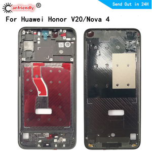 Middle Frame for Honor V20 View20 VCE-L22 AL00 TL00 Middle Frame For Huawei Nova 4 Nova4 Housing Cover replacement middle frame