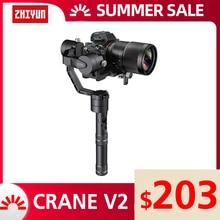 ZHIYUN Official Crane V2 3 Axis Handheld Gimbal Stabilizer Kit for DSLR Camera Sony/Panasonic/Nikon/Canon