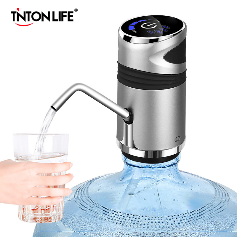 Water Bottle Pump USB Charging Automatic Drinking Portable Electric Water Dispenser Water Bottle Switch For Water Pumping Device