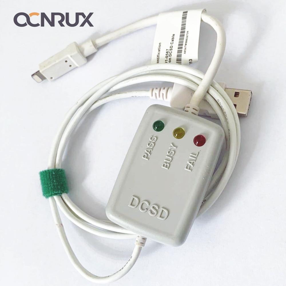 OCNRUX DCSD 케이블 엔지니어링 직렬 포트 케이블 (iPhone 7/7P/8/8P/X 용)