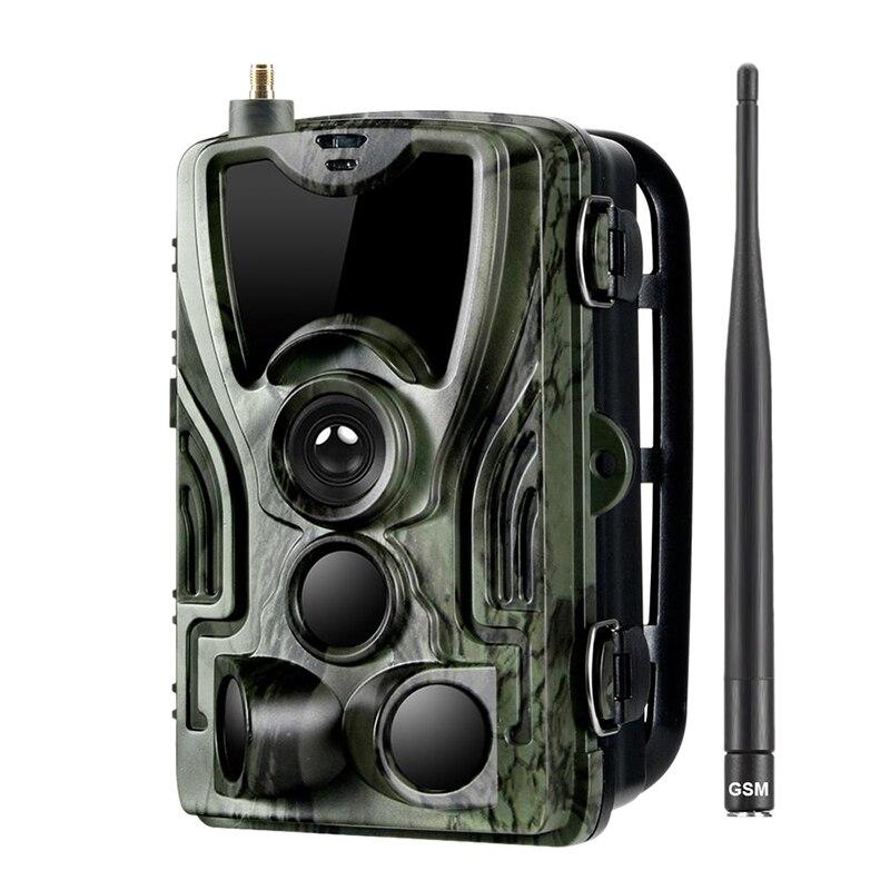 Armadilhas para Animais Caça Trail Câmera Sms – Mms Smtp Selvagem 0.3 s Disparador Foto 16mp hd Noite-versão Scout Hc-801m 2g Mod. 1461233