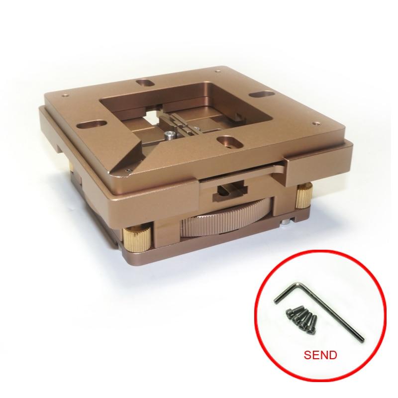 80mm Universal Freeshipping Reballing Adjust Stencil BGA Holder Auto Magnet With 90mm Station