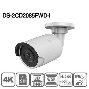 Image 3 - Hikvision original 8mp câmera ip DS 2CD2085FWD I bala rede cctv câmera updateable poe wdr poe slot para cartão sd oem