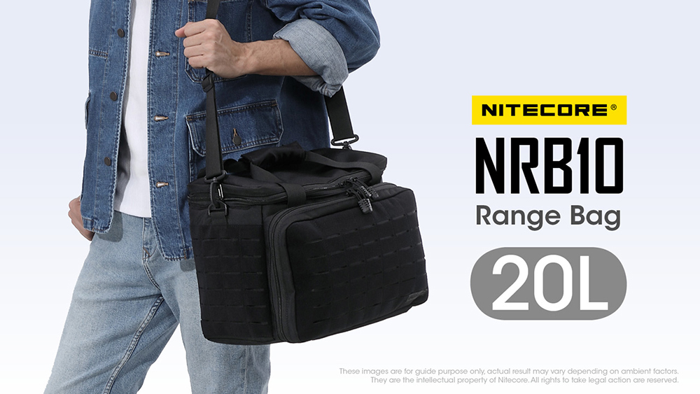 NITECORE NRB10 20L Multi-Purpose Shoulder Bag, travel bag, hiking, shoulder, sling bag, beg bimbit