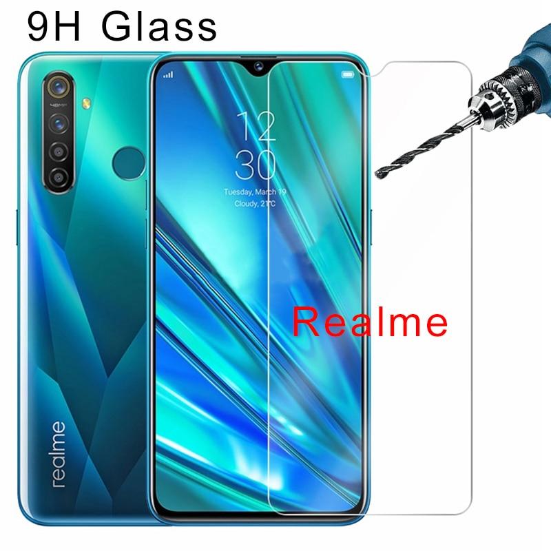 Transparent Screen Protector For Realme C2 C1 U1 9H HD Protective Glass Tempered Glass For Realme 5 3 Pro 3i 2 Toughed Flim