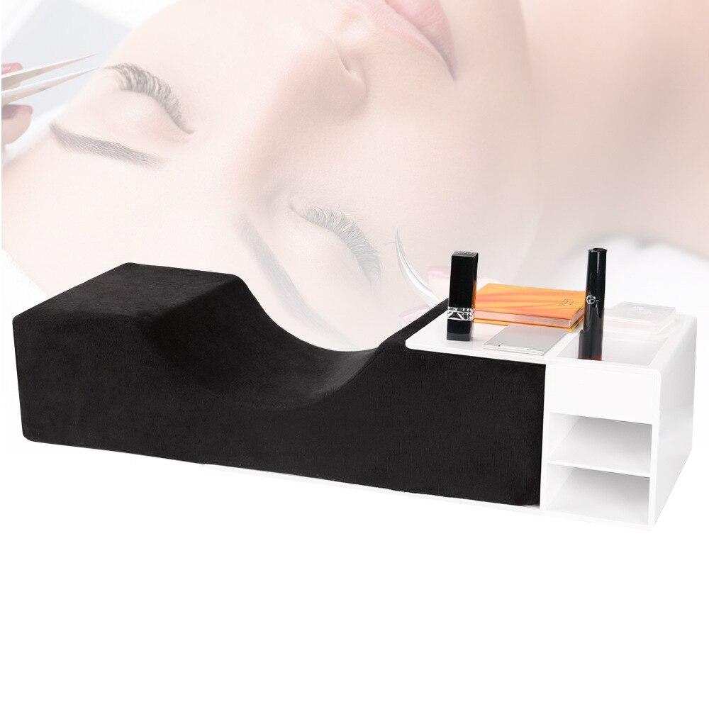 U type Eyelash Pillow Grafting Eyelash Special Pillow Beauty Eyelash Head Pillow Head Massage Pillow Filling Sponge