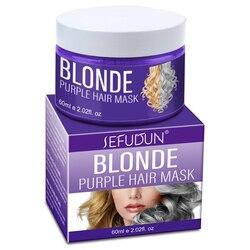 Máscara de tratamento do cabelo hidratante manteiga copo flexível condicionador 5 segundos reparos danos raiz do cabelo cabelo máscara de cabelo 60ml cuidados com o cabelo