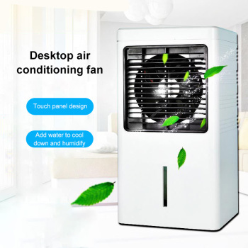 1.3L Portable Mini Air Conditioner Fan Desktop Air Cooler Quick Cooling Second Gear Adjustable Home Office Silent Electric Fan speed adjustable tower fan mute bladeless fan portable floor stand ventilation fan cooling fan with timer air conditioner 35w