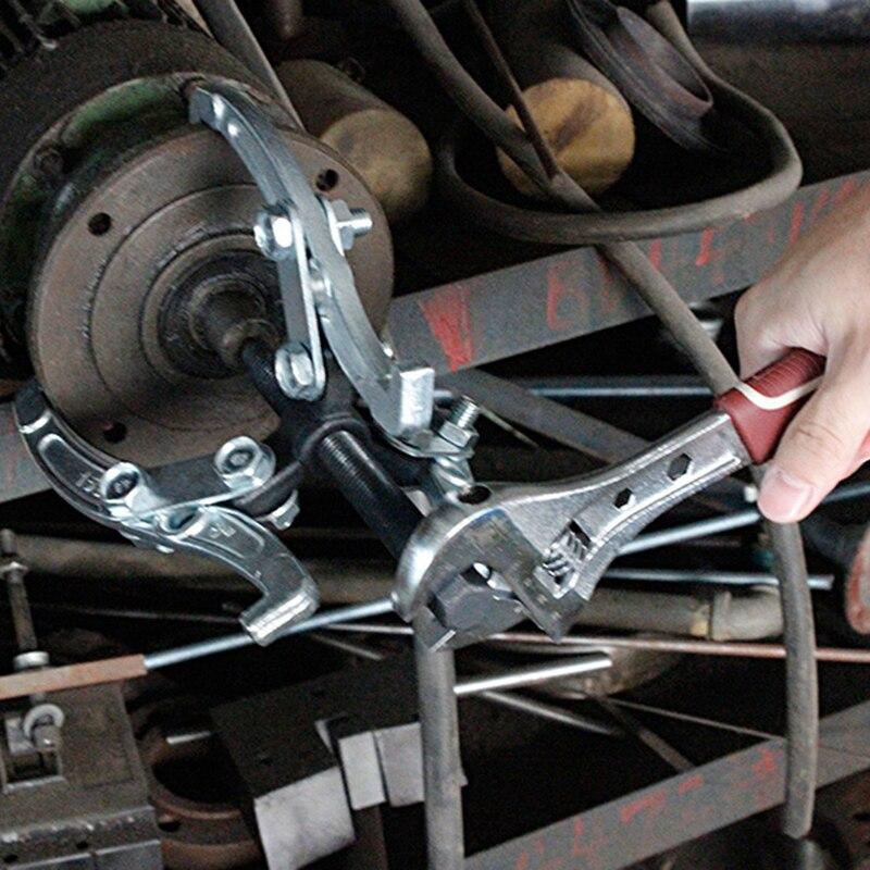 3-Jaw Cuscinetto Puller Gear Wheel Extractor Boccola Kit Strumento di Rimozione Durevole