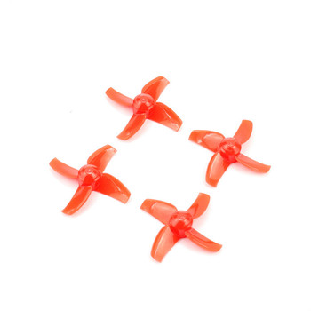 2Pairs 40mm 4 Blade CW CCW Propeller For Tiny R7/TINY 7X/INDUCTRIX FPV image