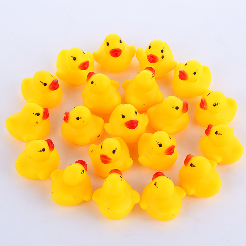 100pcs-lot-Squeaky-Rubber-Duck-Duckie-Bath-Toys-Baby-Shower-Water-Toys-for-baby-Children-Birthday (1)