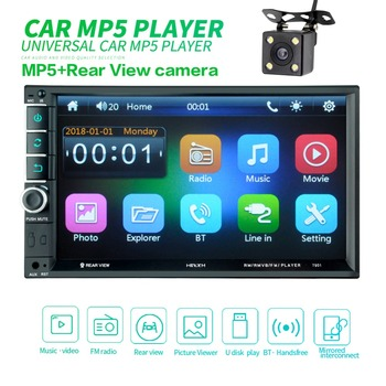2din Car Radio Android multimedia player Autoradio 2 Din 7'' Touch screen GPS Bluetooth FM auto audio stereo image