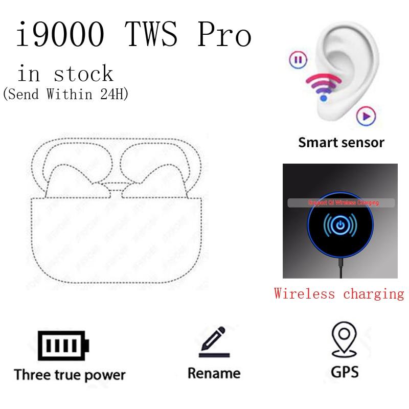 Беспроводные наушники TWS Pro Blutooth I9000, Высококачественная беспроводная гарнитура