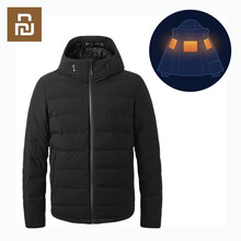 Down-Jacket Smart-Temperature-Control Vancl Heated for Xiaomi Goose Gary Usb-Charging
