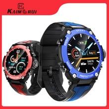 New Smart watch Men Music Play IP68 Waterproof 1.3 inch Sport Digital Men Watch,Compass & weather Smartwatch For ios Android