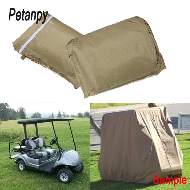 2 tailles désherbeur couverture golf bâche de voiture Patio pluie neige anti-poussière protection solaire couvre