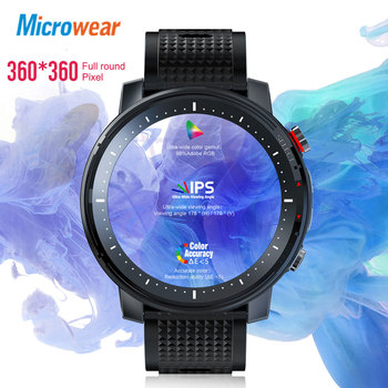 2020 New Microwear L15 Smart Watch Men IP68 Waterproof smartWatch ECG PPG Blood Pressure Heart Rate sport fitness Smartwatch 2