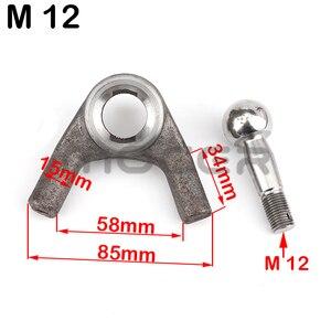 Image 2 - M10/12 Schaukel Arm kugelgelenk Kits Fit Für Chinesische ATV UTV Go Kart Buggy Quad Bike Elektrische Fahrzeug 250cc 1000w Roller Teile