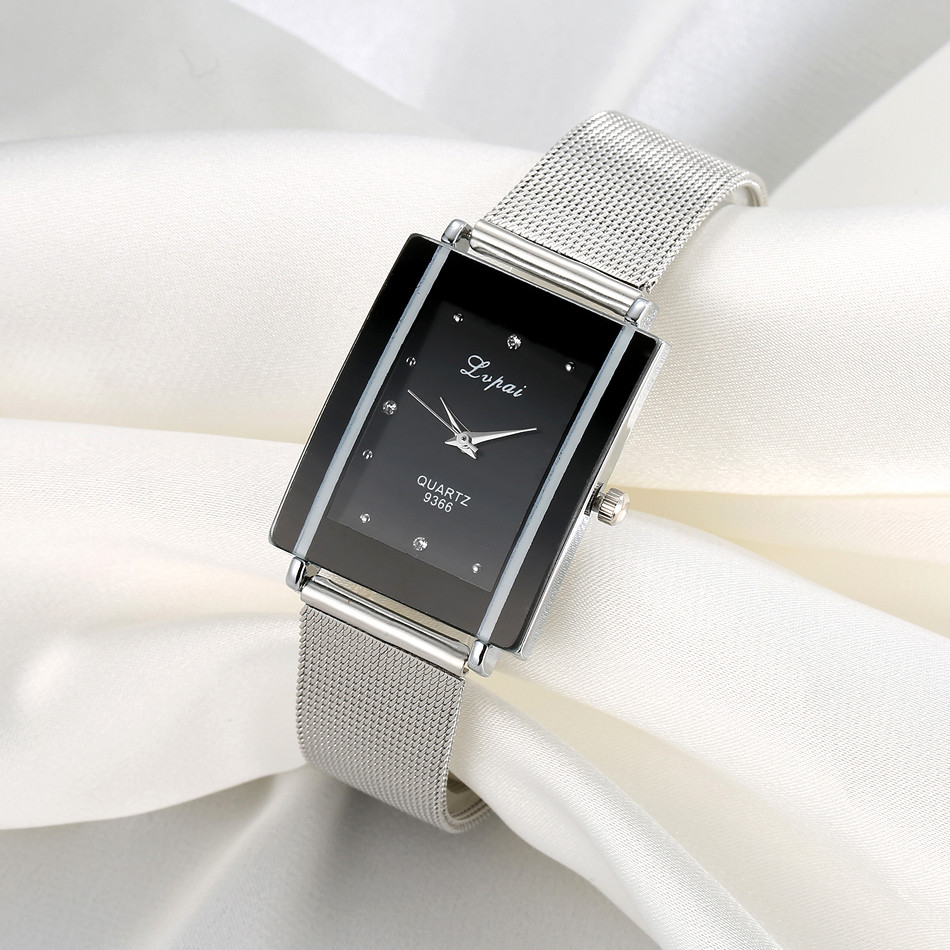 Rectangle Women Watches 2019 Luxury Brand  Watches Women Quartz Wristwatch Clock Ladies Dress Gift Watches