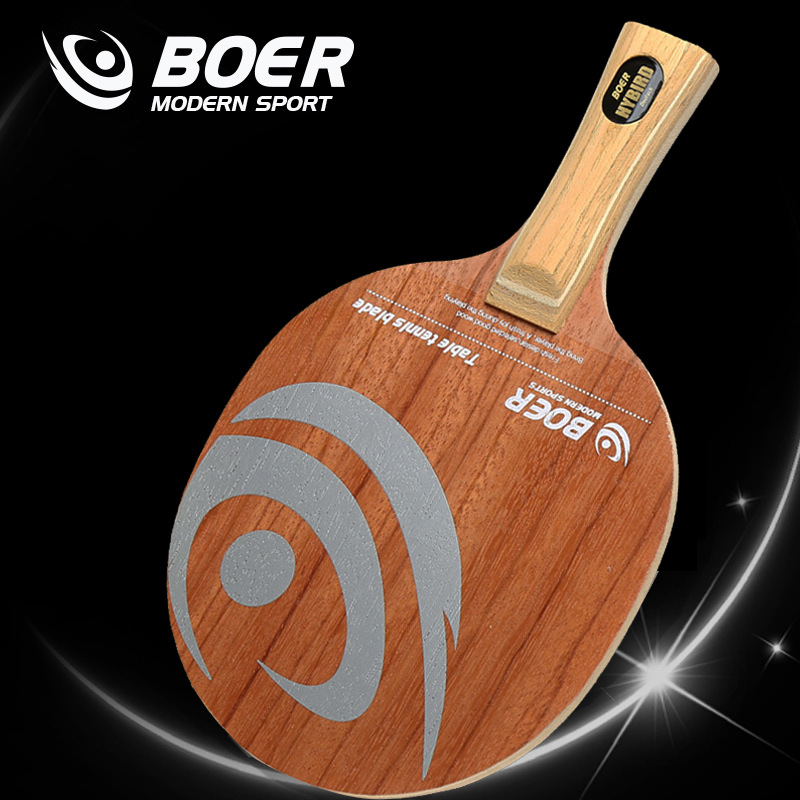 Top Grade Ping Pong Paddle Blade Rose 7 Bottom Plate Manufacturers Direct Selling Customizable Top Grade Table Tennis Racket