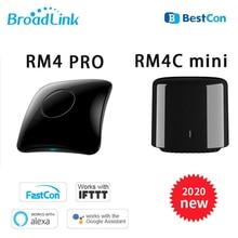 2020 Broadlink RM4 Pro + RM4C 미니 범용 지능형 IR 원격 제어 RM Pro RF 4G WiFi 스마트 홈 작업 Alexa Google Home IO