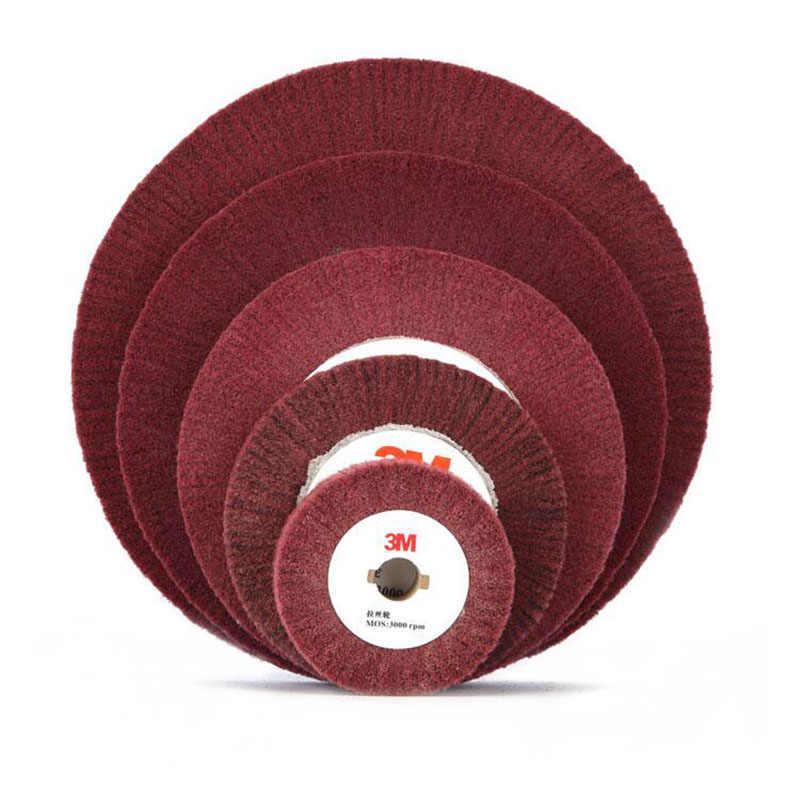 "4-12 Inch Non-woven Abrasive Flap Grinding Polishing Wheel Disc 320# 4//5/"" Bore"