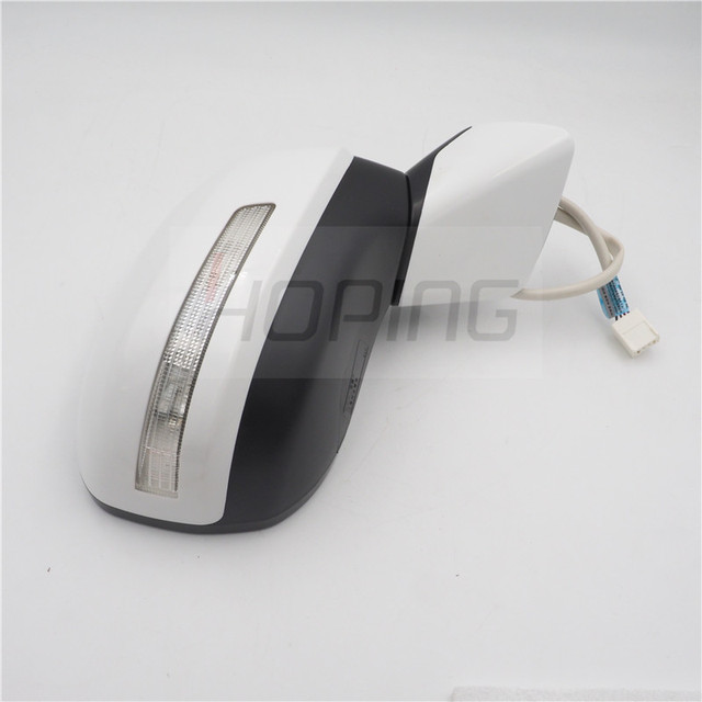 Hoping Outer Rearview Mirror Assy  For Honda For CIVIC FB2 FB3 FB6  2012 2013 2014 2015 5PINS Unpainted With Lamp