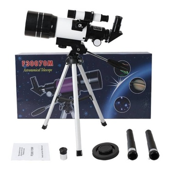 hd large aperture 76mm newtonian reflector astronomical telescope 350 times zooming reflective for space observation f76700 150X Terrestrial Astronomical Telescope HD Children Refracting Telescope Astrophile Student Space View Stargazing High Power