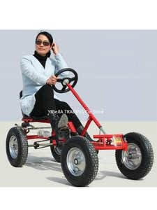 16 inch wheel adult go-karts, with hand brake adult pedal go kart, can load 100KG