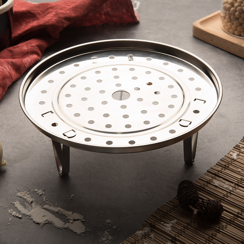 1 PC Steamer Shelf Cookware Kitchen Accessories Multifunction Durable  Steamer Rack Stainless Steel Pot Steaming Tray Stand