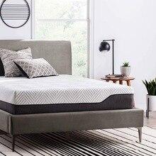 30cm kalınlığı Innerspring hibrid yatak Topper hafızalı köpük şilte kral/kraliçe boyutu kalın yatak pedleri tatami yatak