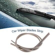 28 дюймов, автомобильная щетка стеклоочистителя для окон, универсальная, 6 мм, авто, оконные щетки стеклоочистителя, силиконовые полоски, дво...