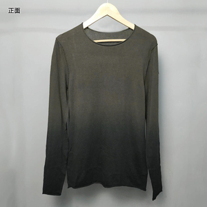 Image 5 - New Autumn Mens T shirt Sweater O Neck Slim Fit Knittwear Mens Cotton Long Sleeve Pullovers Sweater J816 2