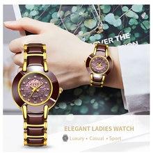 Lige модные женские часы розовое золото браслет reloj mujer
