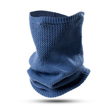 Knitted-Scarf Snood Neck-Sleeve Fake-Collar Wool Outdoor Winter Warm Travel And Autumn