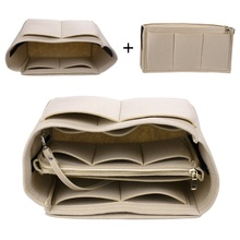 цены Multifunctional Felt Cosmetic Bag Storage Bag Travel Tote Bag Detachable Red Large Bag 34*17*18cm
