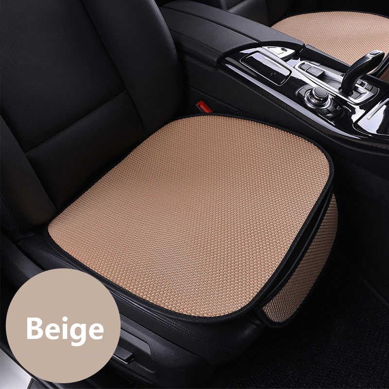 WLMWL Universal ice silk Car seat cushion for Skoda all models octavia fabia rapid superb kodiaq yeti car styling accessorie