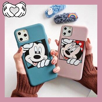 Funda bonita de Minnie con dibujos animados para iphone 11 pro