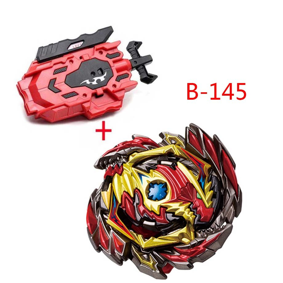 New Launchers Strongest <font><b>Beyblade</b></font> Burst Toys <font><b>B</b></font>-145 <font><b>B</b></font>-144 <font><b>B</b></font>-<font><b>133</b></font> <font><b>B</b></font>-131 Bayblade Toupie Metal God Spinning Top Bey Blade Blades Toy image