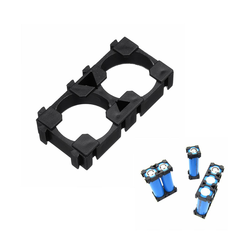 LEORY 2 Series 18650 Lithium Battery Support Combination Fixed Bracket With Bayonet