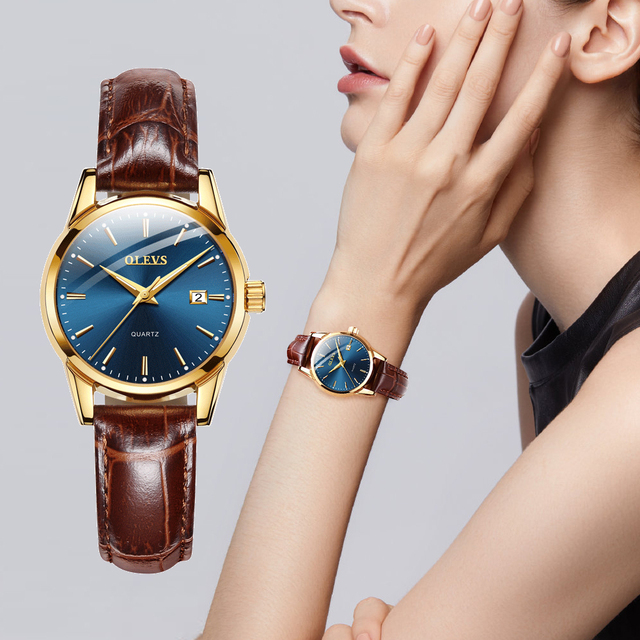 Casual Quartz Watch Leather Band Watches cb5feb1b7314637725a2e7: black dial|blue dial|Brown-black|Brown-white|Stianless black|Stianless white|white dial