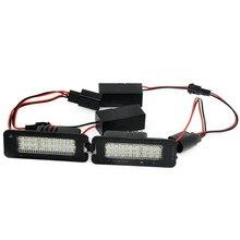 Car 24SMD LED Kit for VW GOLF6/GOLF5/NEW BEETLE//Passat B6 4D/ VW CC /Phaeton/POLO/Scirocco LED LICENSE PLATE LAMP/LIGHTS+Canbus