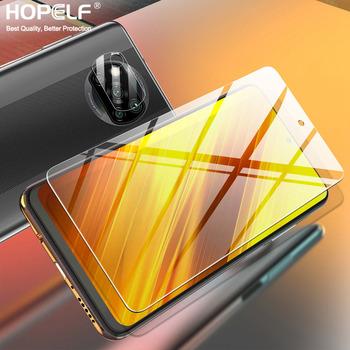 Ochraniacz ekranu dla Xiaomi Poco X3 Pro szkło Nfc dla Poco F3 szkło M3 Pro F2 dla Poco X3 Pro Nfc ochronne F3 szkło hartowane tanie i dobre opinie HOPELF Przezroczysty TEMPERED GLASS Folia hartowana CN (pochodzenie)