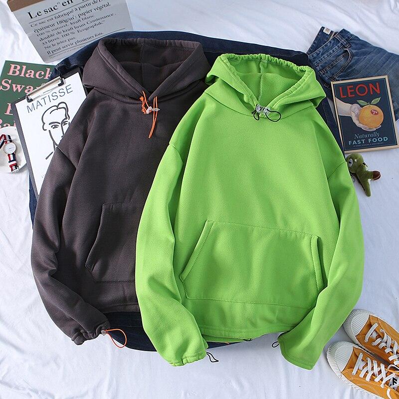 Осенние толстовки мужские модные однотонные повседневные толстовки с капюшоном Мужская Уличная свободная хип-хоп толстовка мужская s