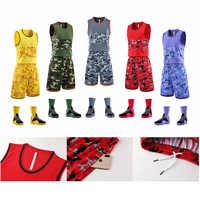 2019 nuevo uniforme de baloncesto para hombre y mujer jersey de baloncesto bolsa de doble cara de secado rápido, se puede personalizar.