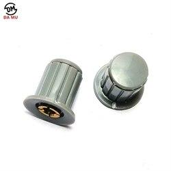 5 шт./лот серая ручка кнопка крышка подходит для WXD3-13-2W поворота со специальными Ручка потенциометра